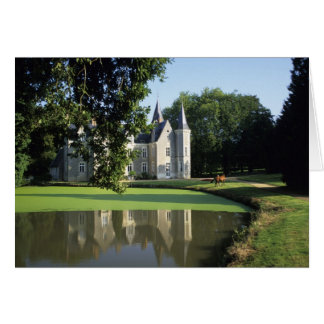 The castle in the park and the gardens MR) Card