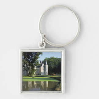 The castle in the park and the gardens MR) Keychain