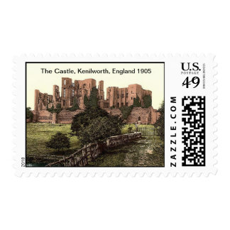 The Castle, Kenilworth, England 1905 Postage