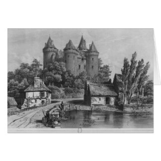 The Castle of Combourg Card