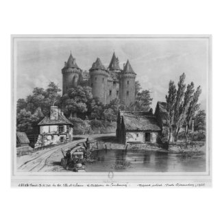 The Castle of Combourg Postcard