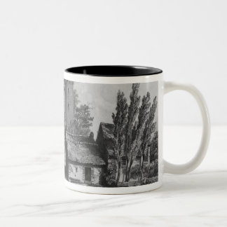 The Castle of Combourg Two-Tone Coffee Mug