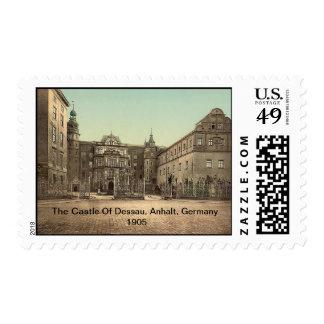 The Castle Of Dessau, Anhalt, Germany 1905 Postage