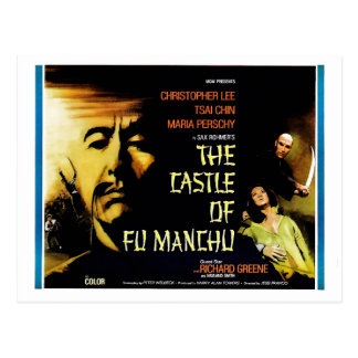 The Castle of Fu Manchu Postcard