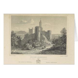 The Castle of ortenberg 1860, Darmstadt Card