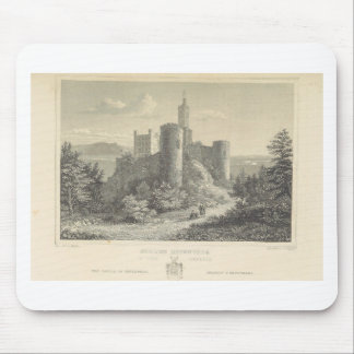 The Castle of ortenberg 1860, Darmstadt Mouse Pad