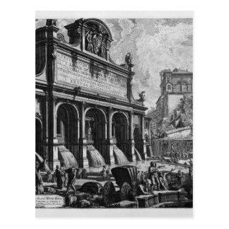 The Castle of the Acqua Felice Giovanni Battista Postcard