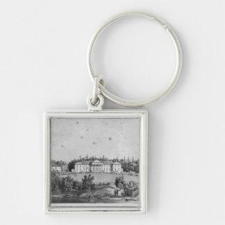 The Castle of Wierzchownia Keychain