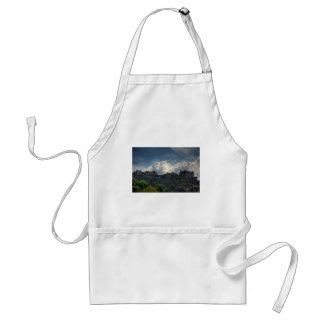 The Castle on the Rock Adult Apron