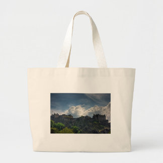 The Castle on the Rock Large Tote Bag