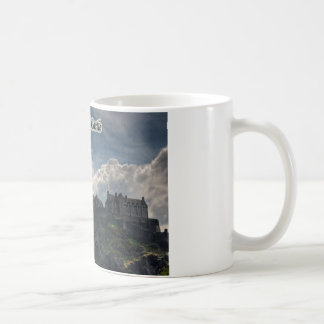 The Castle on the Rock Coffee Mugs