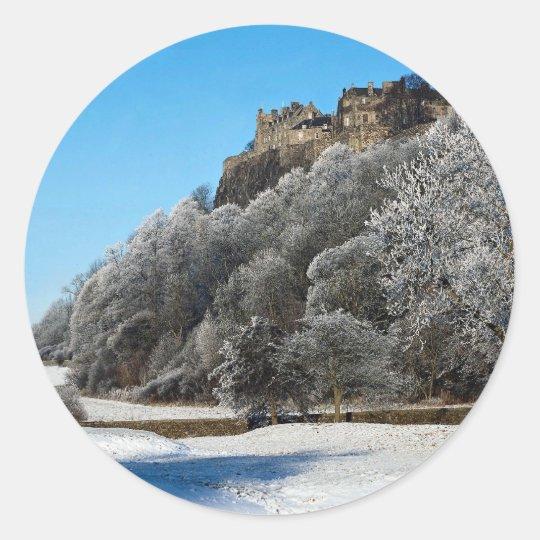 The Castle, Stirling, Scotland Classic Round Sticker