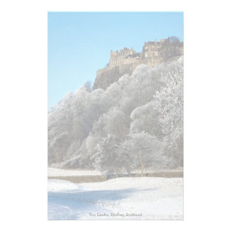 The Castle, Stirling, Scotland Customized Stationery