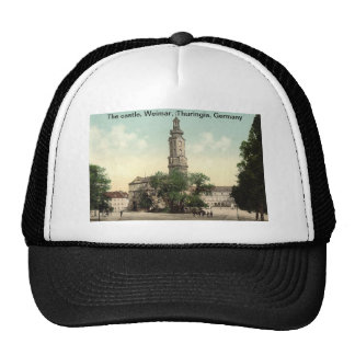 The castle, Weimar, Thuringia, Germany Hat