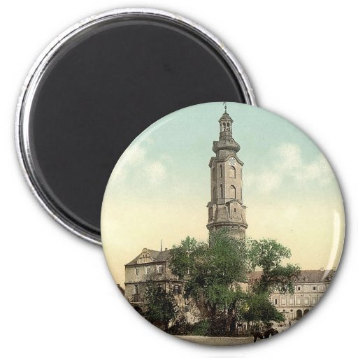 The castle, Weimar, Thuringia, Germany Fridge Magnet