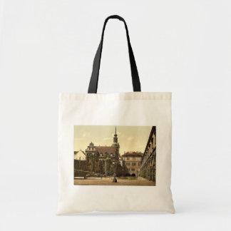 The Castle Yard, Altstadt, Dresden, Saxony, German Tote Bag