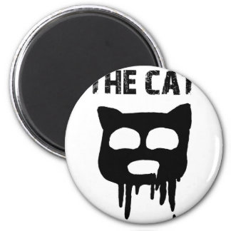 THE CAT 2 INCH ROUND MAGNET