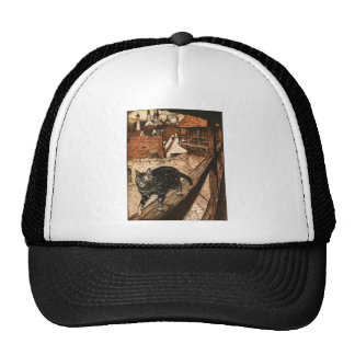 The Cat and Mouse in Partnership Trucker Hat