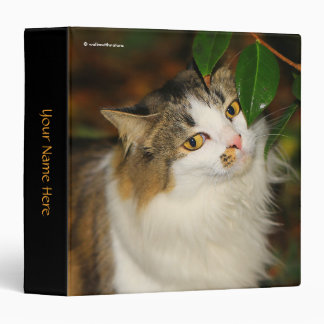 The Cat and the Camellia Binder