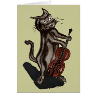 The Cat and the Fiddle Greeting Cards