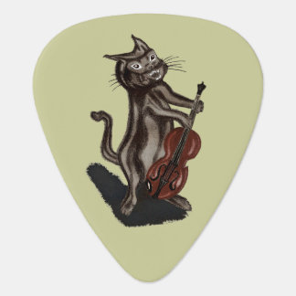 The Cat and the Fiddle Guitar Pick