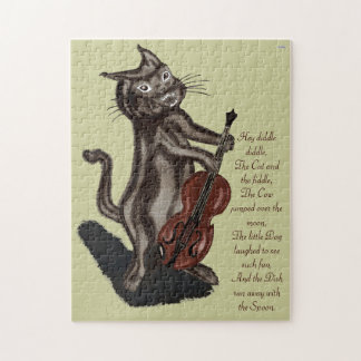 The Cat and the Fiddle Jigsaw Puzzle