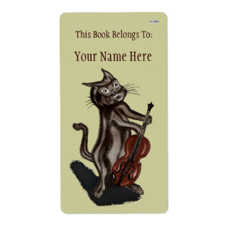 The Cat and the Fiddle Label