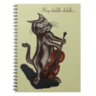 The Cat and the Fiddle Notebook