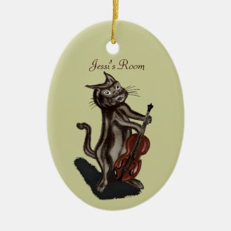 The Cat and the Fiddle Christmas Tree Ornament