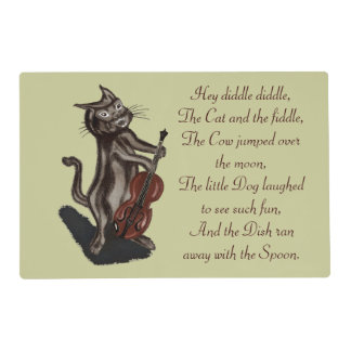 The Cat and the Fiddle Placemat