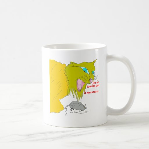 The CAT AND the MOUSE 1.PNG Coffee Mug
