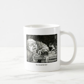 The Cat and the Ogre Artwork Coffee Mug
