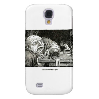 The Cat and the Ogre Artwork Galaxy S4 Cover