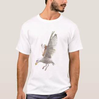 The Cat and The Seagull T-Shirt
