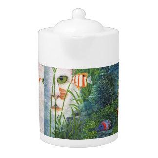 The Cat Aquatic Teapot