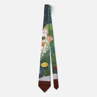 The Cat Aquatic Tie