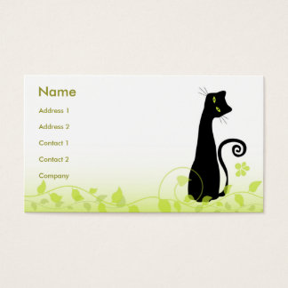 The Cat Business Card