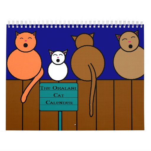 The Cat Calender Wall Calendar