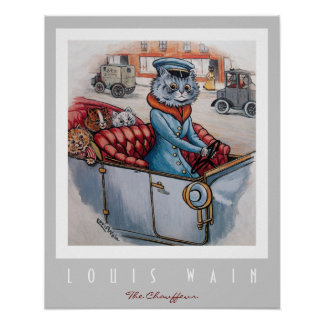 The Cat Chauffeur Poster