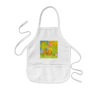 The Cat child's apron