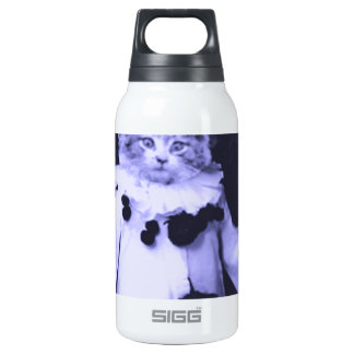The Cat Clown Insulated Water Bottle
