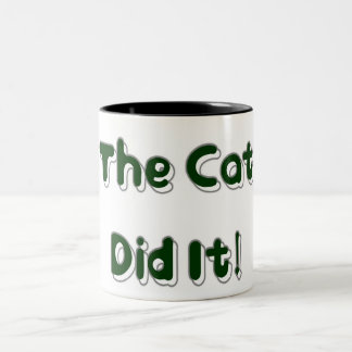 The Cat Did It! Mug