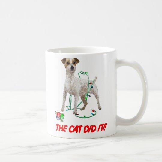 THE CAT DID IT!!  mugs