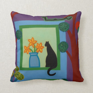 The Cat From Askew Crescent 2008 Pillow