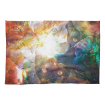 The Cat Galaxy Kitchen Towel