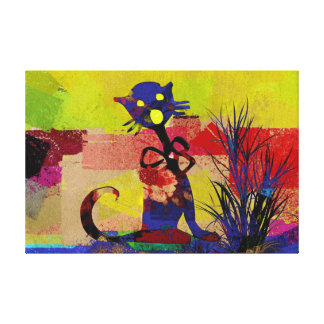 The Cat Gallery Wrap Canvas