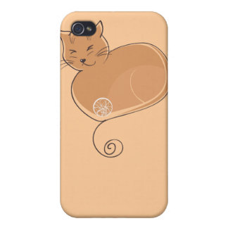 The Cat - Ginger iPhone 4/4S Case