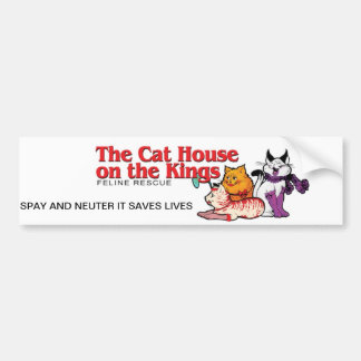 The Cat House on the Kings Bumper Sticker