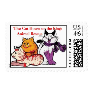 The Cat House on the Kings postage stamps