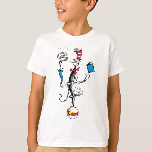 The Cat in the Hat Balancing Act T_Shirt